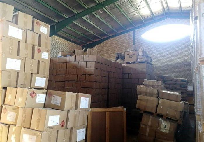 محموله احتکار شده کالاهای بهداشتی در اختیار دانشگاه علوم پزشکی بوشهر